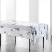 Douceur d 'Intérieur cactae Rectangular Print Tablecloth cactae Polyester 240 x 150 cm Multi-Coloured