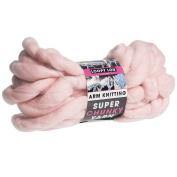 PMS Pink Super Chunky Arm Knitting 12. 5mtr Hank