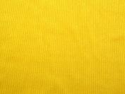 Ribbed Polar Fleece Fabric Yellow - per metre