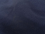 Jersey Backed Micro Fleece Sports Fabric Material For Textile Crafts Stretch - NAVY BLUE