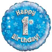 Happy 1st Birthday Balloon Boys