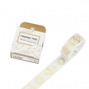 Original Seven 5pcs Creative DIY Scrapbooking Paper Tape Sticker Crafts Decoration
