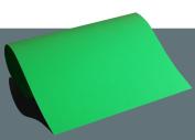 Creative Flock Iron-On Film A4 (21 x 29,7 cm Text – Soft Transfer film neon green
