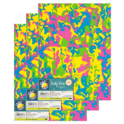 "Craft Planet 9 x 12"" Funky Foam 2mm Thick (Pack of 3) - Swirl"