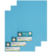 """Craft Planet 9 x 12"""" Funky Foam 2mm Thick (Pack of 3) - Light Blue"""
