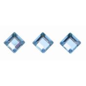 Glorex P & D Self-Adhesive Squares, Plastic, blue, 14.5 x 8.6 x 0.2 cm