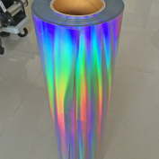 HOHO 50cm x 50cm Image Iron-on Transfer Paper Laser Holographic Shirt Heat Transfer Vinyl HTV