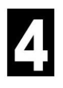 Twin Pack - Wheelie Bin Numbers (Approx. 16.5cm Height) - 0 To 9 - Swan household ®