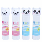 ShenTan Solid Plastic Cartoon Student Glue Stick Student Stationery