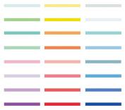 ShenTan Shine Ribbon Set Scrapbooking Adhesive Tape Decorative Tape