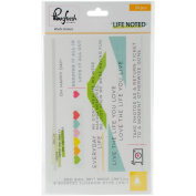 Life Noted Washi Tape Stickers 10cm x 15cm 3/Sheets-
