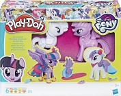 PLAY-DOH My Little Pony Princess Twilight Sparkle and Rarity Fashion Fun Set