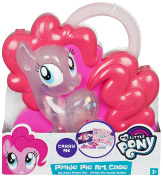 My Little Pony Carry Along Arts Suitcase - Pinkie Pie Carry-Along Art Case with Supplies Keepsafe - Perfect Art Case for Safe Keeping Colouring Pens and Markers
