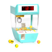 GCSJ Funny Creative Candy Grabber Alarm Clock,Electronic Crane Claw Game with Success and Failure Music