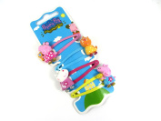 Peppa Pig Golden Boots Hair Clips - Peppa Pig, Suzy Sheep & Candy Cat