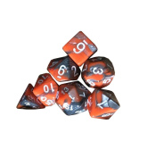 TUDUZ 7PCS/Set TRPG Games Dungeons & Dragons Polyhedral Table Games Multi-Sided Dice D4-D20
