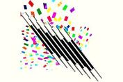 Climax Wand - Multicolor confetti