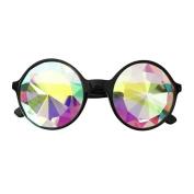 Hunpta Kaleidoscope Glasses Rave Festival Party EDM Sunglasses Diffracted Lens