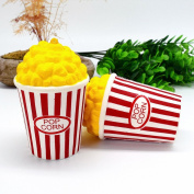 Prochive Squeeze Popcorn Cup Squishy Slow Rising Foam Stress Reliever Toys, Cute Creative Cartoon Super Slow Rising Soft Toy Office Fun Novelty Decompression Toys