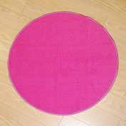 Colorama Play Mat, Plain Pink Circle, 80 cm diameter