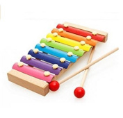 S-LOVE Music 8-Notes Instrument Xylophone Toys Musical Wood Instruments Kid Toys