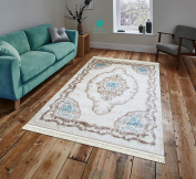 Runner Rug 80 x 300 cm 11 mm Pile with Matching Franzen Bed Frame in Classic Design