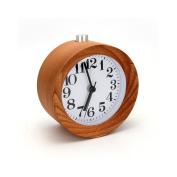 Logs Wooden Luminous Mute Alarm Clock Wooden Clocks Round Wooden Silently Alarm Clock