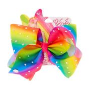 JoJo Siwa Signature Large Rainbow Hair Bow