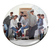 BTS Kpop Photo Compact Pocket Hand Mirror