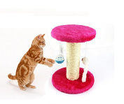 Gold butterfly@ Cats toys Scratching Cat Scratch Board Pet Teaser Toy Hanging cat toy