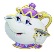 Princess Disney - Mrs Pott - Belle and the Beauty - Tea pot shaped Vanity Case - 9705810
