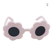 HUUATION 46cm American Girl Doll Glasses Doll Sun Glasses Baby Dolls Flower Shape Sun Glasses 4 Colour