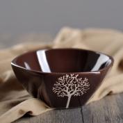 Hand-painted art ceramic plates creative bowls home dish plate steak-D