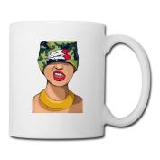 BEDOO Wild Girl Coffee Cups White