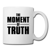BEDOO The Moment Of Truth Coffee Cups White