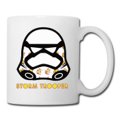 BEDOO Storm Trooper Coffee Cups White