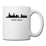 BEDOO Chicago City Coffee Cups White