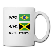 BEDOO Jamaica Unique Coffee Cups White