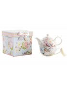 Home and more - Teapot and cup plus a cash game. Model Shabby