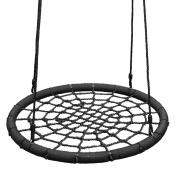 WICKEY Nest swing Children Swing, black, Ø97cm