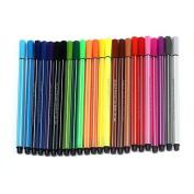 ReadiMax(TM) 24 Colour Nontoxic Watercolour Pen Painting Pen Washable Paint Brushes sale