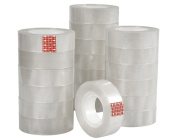 BULK 20 Rolls of Clear Sticky Tape - 33m by 15mm Rolls | Craft Adhesives