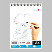 A6 Sketch Pad White Drawing Artist Paper on Spiral Book - 50 sheets - 100 pages