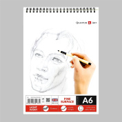 A6 Sketch Pad Drawing L Ivory Artist Paper on Spiral Book -50 sheets - 100 pages