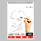 A5 Sketch Pad Drawing L Ivory Artist Paper on Spiral Book -50 sheets - 100 pages