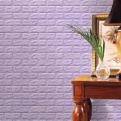 Wall Stickers, KEERADS 3D Brick Wallpaper Brick Pattern Wall Stickers Soundproofing Wallpaper for Living Rooom Bedroom