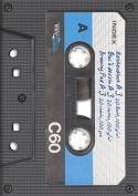 """Baier Schneider Reverse & Pad (297 MM x 420 MM x A3 100 g / M ², motif """"Cassette"""" 20 Sheets"""