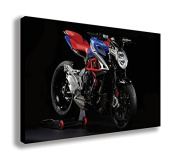 MV AGUSTA BRUTALE 800 AMERICA SPECIAL EDITION CANVAS WALL ART