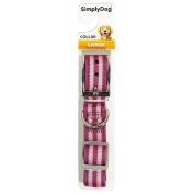 Simply Dog Neoprene Collar Pink Large