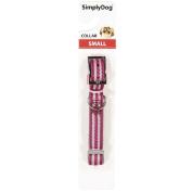 Simply Dog Neoprene Collar Pink Small